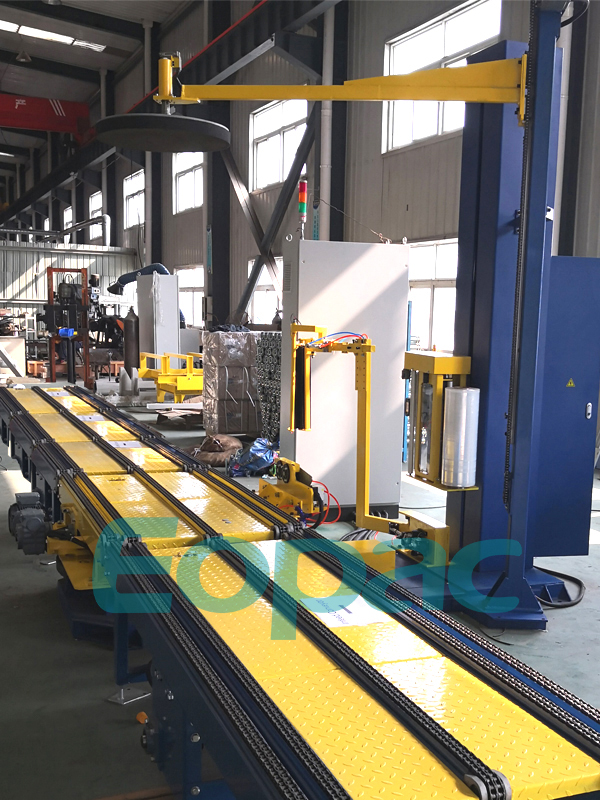 Automatic Online Pallet Packing Machine