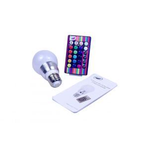 Iluminação doméstica inteligente RGB Bulb LED