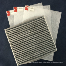 Factory Manufacturing Top Selling Nonwoven Fabric Material for Car Air Filter