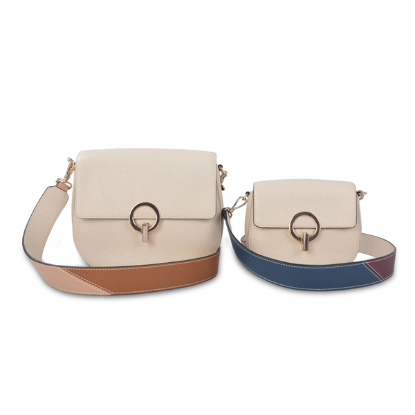 100% saffiano leather clutch crossbody sling bag