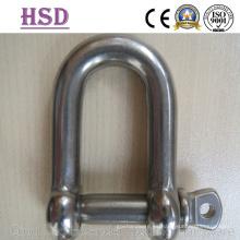 Grillete de acero inoxidable JIS tipo D, Ss316, Ss304