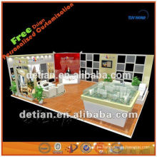 Stand de exposición 10x10 stand de stand de feria stand de diseño