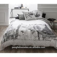 Venda quente de alta qualidade de poliéster material têxtil têxtil