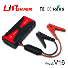 Multi funcation car Jump Starter 16800mAh 18000mah power bank jump starter with portable air compressor