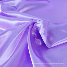 Venda quente a cor tingida da orquídea da cor cetim chinês tecido de cetim