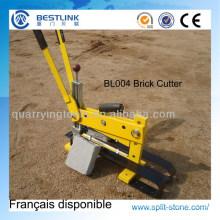 Manual pavimentos cortadora de ladrillo y bloque de concreto portátil