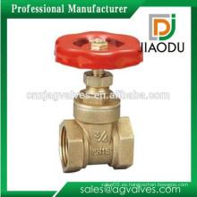 Marca de fábrica famosa Precio de fábrica de la alta calidad 1 2 4 6 válvula de compuerta de latón del agua de 8 pulgadas 3 pulgadas