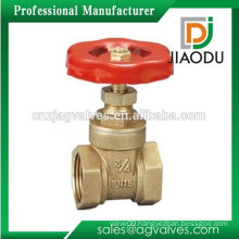 Famous Brand High quality Factory Price 1 2 4 6 8 inch water brass gate valve 3 inch