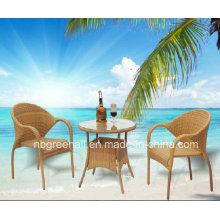 Mobiliário de jardim Mobiliário de exterior Dininng Set Plastic Chair