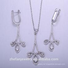 China Herstellung 925 Sterling Silber Anhänger Halskette weltweit exportiert