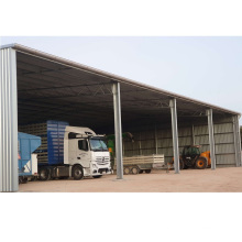 China Low Cost Prefabricated Steel Metal Storage Building Kits