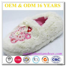New Models Embroidery Cute Cartoon Children Slipper