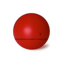Bola de Borracha de Silicone Sólido de 18mm com Furo