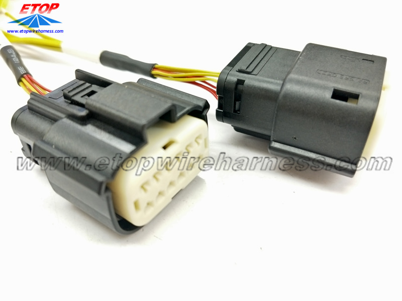 MX150 afgedichte connector naar mini-thermokoppelconnector