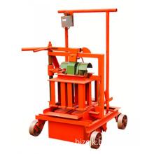 Zcjk Qm40A Concrete Hollow Block Making Machine