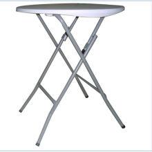 Mesa redonda plástica de 61 cm, mesa de bar