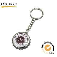 Metal Bottle Cap keychain with Custom Logo (K03093)