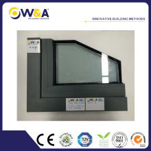 America Style Casement Holz Aluminium Fenster mit integrierten Fensterläden