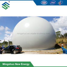 Flexible Membrane Dome Gas Storage Bag Tank Container for Biogas