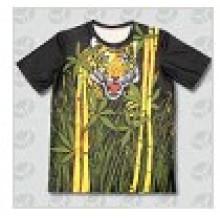 Печать Мужская круглая футболка с шейкой шеи