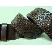 Le plus grand fournisseur de ceintures de mode en cuir tissé en cuir en Chine