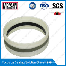 Gd1000k Tipo PA / PTFE / POM / NBR Anel de vedação de pistão hidráulico cilíndrico