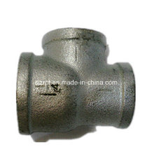 No. 131 Reducing Banded Galvanized Tee Malleable Iron Pipe Fittings