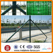 pvc coated holland/holland mesh fence