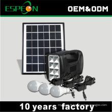 Chine Système solaire d'éclairage de kits d'énergie solaire d'ODM d'OEM pour l'usage extérieur d'intérieur