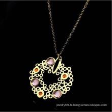 Accessoires bijoux de mode Collier bijoux en acier inoxydable (hdx1111)