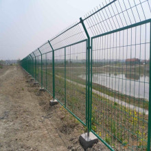 Hot Sale PVC Coated Bilateral Wire Fence/Temporary Fence