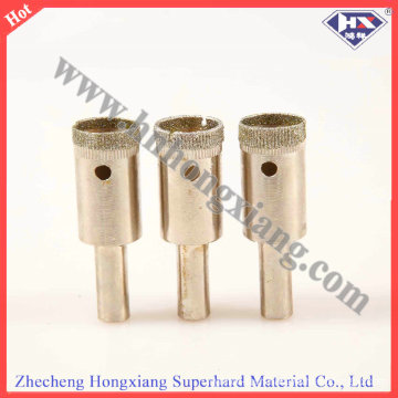 Electroplate Diamond Core Drill Bit for Glass Drilling