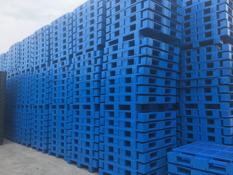 Plastic Pallet with Metal Reinforced