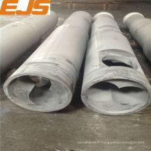baril et vis bimétalliques de la machine en plastique d'extrusion