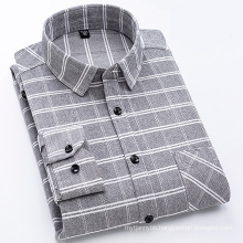 100% Cotton flannel men's shirt