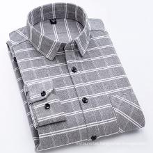 100% Cotton flannel men's shirt