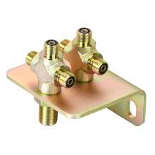 Адаптеры с гидравлическими фитингами Carton Steel с фланцевым блоком