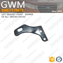 100% Original Great Wall Wingle parts Great Wall Spare Parts Left Bracket Front Bumper 2803301-D43-B1
