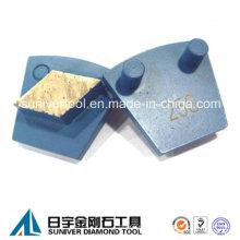 Máquina de WerkMaster diamantadas segmento para hormigón