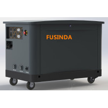 Fusinda 16kw / 15kw / 17kw Tri Fuel (LPG / NG / Gasoline) Тихий резервный генератор