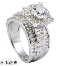 New Fashion Jewelry 925 Sterling Silver Ring with Diamond
