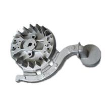 Proceso de fundición de arena de alta presión de aluminio del bastidor de acero de la inversión de China