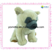 Weißer Hund Soft Stuffed Toy