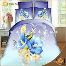 soft hand feel Europe high quality cotton comforter set ,3D reactive