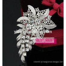 Moda moda ornamentos broche de strass