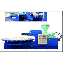 Automatic Rotary PVC Air Blowing/Crystal Injection Moulding Machine