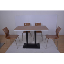 Aluminum Sealing Restaurant Table and Chair for Food Court (FOH-NCP26)