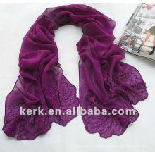 Prix d'usine 175cmx52cm 17 couleurs écharpe châles femmes, peut être MUSLIM HIJAB, écharpe 100% soie