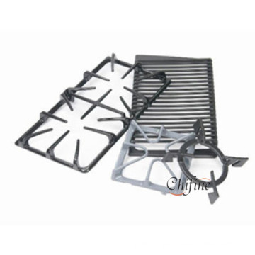 Enamel Range Cast Iron Grate for Gas Burner Bracket