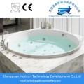 Embedded round soaking Bathtub